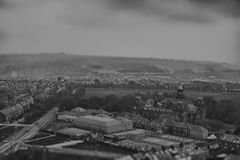 Tilt and shift photo Royalty Free Stock Image