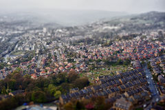 Tilt and shift photo Royalty Free Stock Photography