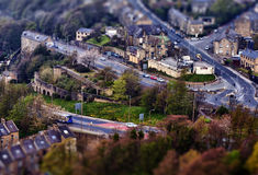 Tilt and shift photo Royalty Free Stock Photos