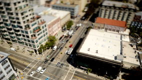 Tilt Shift Time Lapse View of San Francisco stock video