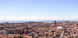 Tilt shift venetia Royalty Free Stock Photos
