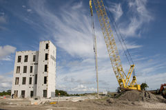 Tilt Wall Construction Stock Photography