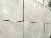 Tiltcrete Wall Daylight with slight shadow Royalty Free Stock Photography