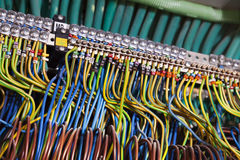 Main Electric Wiring Center Royalty Free Stock Photo
