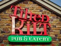 Tilted Kilt Targets Northern California Market Royalty Free Stock Image