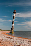 Tilted lighthouse Stock Photography