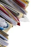 Tilting Files Stock Photography