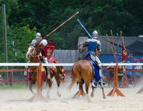 Tilting Knights 2 Stock Photography