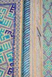 Tilya-Kori Madrasah, Registan, Samarkand Royalty-vrije Stock Afbeeldingen