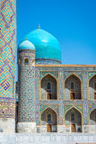 Tilya-Kori Madrasah, Registan, Samarkand. Tilya-Kori Madrasah, Samarkand Registan, Uzbekistan Stock Photo