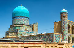 Tilya-Kori Madrasah on Registan Square in Samarkand, Uzbekistan Stock Photos