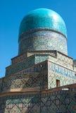 Tilya Kori Madrasah in Registan square,vSamarkand Royalty Free Stock Images