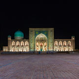 Tilya Kori Madrasah in Samarkand, Uzbekistan Royalty Free Stock Photo