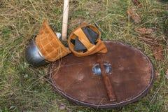 Timón de Viking Imagenes de archivo