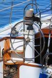 Timón del barco Fotografía de archivo libre de regalías