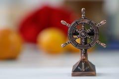 Timón marino modelo fotos de archivo libres de regalías