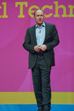 Tim Berners-Lee fait le discours à IBM Lotusphere Photo libre de droits