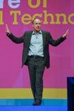 Tim Berners-Lee fait le discours à IBM Lotusphere Image stock