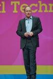 Tim Berners-Lee trasporta l'indirizzo all'IBM Lotusphere Fotografia Stock Libera da Diritti