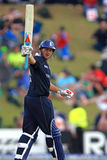 Tim Bresnan salutes his first ODI half-century Royalty Free Stock Photography