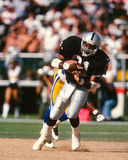Tim Brown. Los Angeles Raiders WR Tim Brown. (image taken from color slide Stock Photos