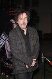Tim Burton. At industry screening of his movie Sweeney Todd the Demon Barber of Fleet Street at Paramount Studios, Hollywood. December 5, 2007  Los Angeles, CA Royalty Free Stock Images