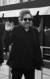 Tim Burton en el festival de película internacional de Moscú Imagen de archivo libre de regalías