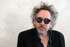 Tim Burton. Famous American film director Tim Burton during press conference in Prague, Czech republic, March 27, 2014 Royalty Free Stock Image