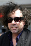 Tim Burton. Hollywood - July 10, 2005 - Tim Burton at the `Charlie and the Chocolate Factory` World Premiere at the Grauman`s Chinese Theatre in Hollywood Royalty Free Stock Photo