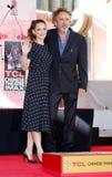 Tim Burton and Winona Ryder Stock Image