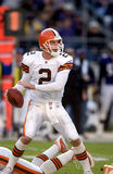 Tim Couch, Cleveland Browns QB Royalty-vrije Stock Fotografie