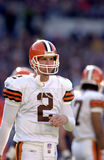 Tim Couch, Cleveland Browns QB Royalty-vrije Stock Afbeeldingen