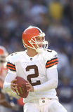 Tim Couch, Cleveland Browns QB imagem de stock royalty free