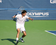 Tim Henman Tennis Forehand Stock Photos