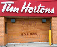 Tim Horton's Quality Secret Revealed. Tim Hortons Inc. is a multinational fast casual restaurant[5] known for its coffee and doughnuts. It is also Canada's Stock Image