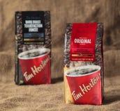 Tim Hortons Coffee Bags fotografie stock libere da diritti