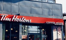 Tim Hortons royalty free stock photos