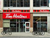 Tim Hortons Coffee Shop stock image