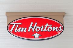 Free Tim Hortons Sign Royalty Free Stock Images - 123176609