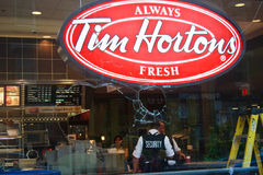 Tim Hortons Toront  G8/G20 Protest Riots Royalty Free Stock Images