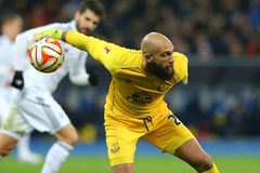 Tim Howard, UEFA Europa League Round of 16 second leg match between Dynamo and Everton Stock Photo