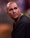 Tim Hudson, de waterkruik van Oakland A's Royalty-vrije Stock Afbeelding