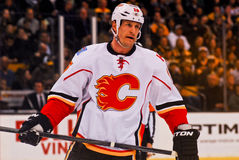 Tim Jackman Calgary Flames Stock Photos