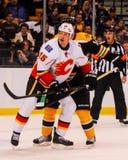Tim Jackman Calgary Flames #15 Immagini Stock