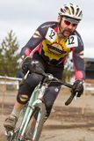 Tim Jones - Masters Cyclocross Racer Royalty Free Stock Image