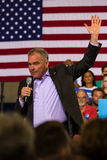 Tim Kaine at Political Rally Stock Photography