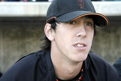 Tim Lincecum, Pitcher Royalty Free Stock Photography