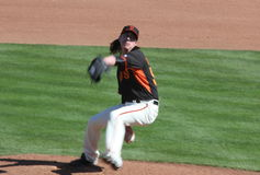 Tim Lincecum Royalty Free Stock Photography