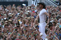 Tim McGraw Fotografia de Stock Royalty Free
