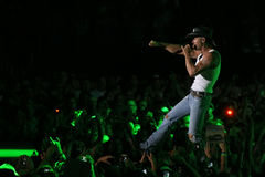 Tim McGraw. Performs live in Chicago for the Brothers of the Sun Tour Stock Photos